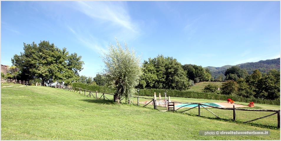 Begonie, casa vacanze Castiglione Garfagnana