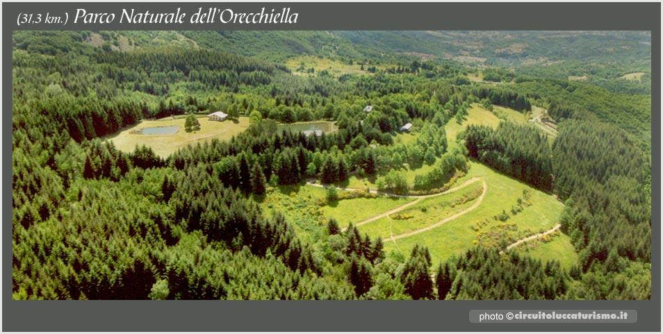 Garfagnana, Parco dell'Orecchiella visto dall'alto